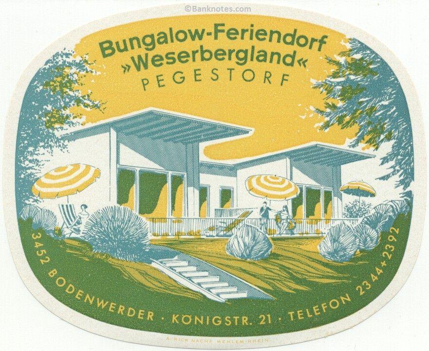 Bungalow-Feriendorf WESERBERGLAND Pegestorf, Bodenwerder, Germany