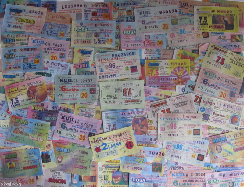 100 different lottery tickets