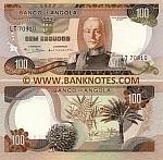 Angola 100 Escudos 1972 (PK 12608) UNC