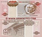 Angola 500000 Kwanzas Reajustados 1995 (SG23568xx) UNC