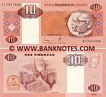 Angola 10 Kwanzas Oct. 1999 (EF702197x) UNC