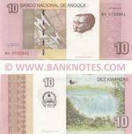 Angola 10 Kwanzas Oct. 2012 (WA07329xx) UNC