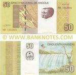 Angola 50 Kwanzas Oct. 2012 (TW12538xx) UNC