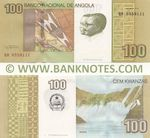 Angola 100 Kwanzas Oct. 2012 (QR89581xx) UNC