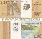 Angola 500 Kwanzas Oct. 2012 (KR 39129xx) UNC