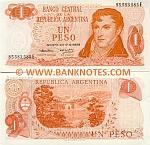 Argentina 1 Peso (1974) (76.612.4xxE) AU