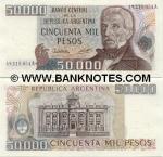 Argentina 50000 Pesos (1979-83) (54.685.4xxA) UNC