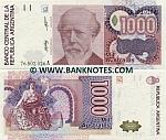 Argentina 1000 Australes (1988) (76.802.0xxA) UNC