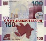 Azerbaijan 100 Manat 2005 (A20540471) UNC