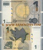Azerbaijan 1 Manat 2009 (C489263xx) UNC