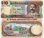 Barbados 10 Dollars 2007 (C35/7578xx) UNC