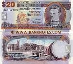 Barbados 20 Dollars 2007 (D69/4787xx) UNC