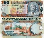 Barbados 50 Dollars 2007 (J20/711048) UNC
