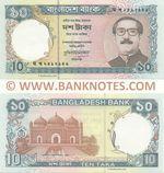 Bangladesh 10 Taka (1997) (gha-kha-24979xx) UNC