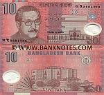 Bangladesh 10 Taka 2000 (polymer) (AA19276xx) UNC