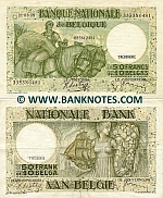 Belgium 50 Francs 22.02.1938 (#076722832/3069X0832) (circulated) F+