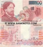 Belgium 100 Francs (1995-2001) (Sig: Masai + Quaden) (138062877xx) UNC
