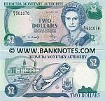 Bermuda 2 Dollars 6.6.1997 (B/3 501xxx) UNC
