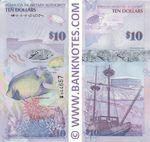 Bermuda 10 Dollars 1.1.2009 (BM Onion 044664) UNC