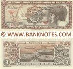 Brazil 5 Cruzeiros (1961) (070/0276xx) UNC