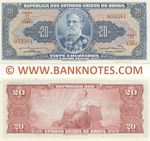 Brazil 20 Cruzeiros (1963) (1148A/0533xx) UNC