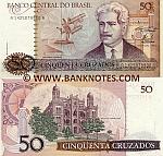 Brazil 50 Cruzados (1986) (A14250798xxA) UNC