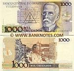 Brazil 1 Cruzado Novo on 1000 Cruzados (1989) (B03520444xxA) UNC