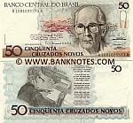 Brazil 50 Cruzados Novos (1989) (A10810355xxA) UNC