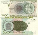 Brazil 5000 Cruzeiros (1990) (A05360836xxB) UNC