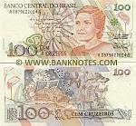 Brazil 100 Cruzeiros (1990) (A08790220xxA) UNC