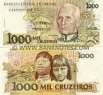 Brazil 1000 Cruzeiros (1991) (A84450647xxA) UNC