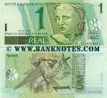Brazil 1 Real (2003-) (A23110996xxC) UNC