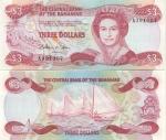 Bahamas 3 Dollars (1984) (A5015xx) UNC