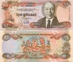 Bahamas 5 Dollars 2001 (Y2112xx) UNC