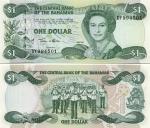 Bahamas 1 Dollar 2002 (DY9945xx) UNC