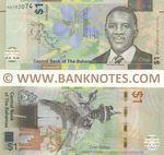 Bahamas 1 Dollar 2017 (A07820xx) UNC