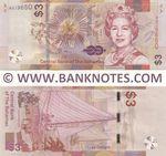 Bahamas 3 Dollars 2019 (A0196xx) UNC