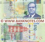Bahamas 10 Dollars 2016 (D952905) UNC
