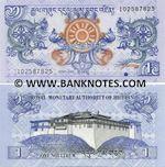 Bhutan 1 Ngultrum 2006 (I058067xx) UNC