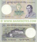Bhutan 10 Ngultrum 2013 (K107385xx) UNC