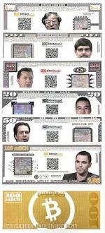 International BTC Set of 1, 5, 10, 20, 50 and 100 Milli ND UNC