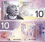Canada 10 Dollars 2005 (BTC2630555) UNC