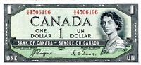 Canada 1 Dollar 1954 (F/A0743040) (circulated) VF