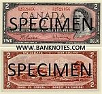 Canada 2 Dollars 1954 (1973-75) (V/G1488123) AU-UNC