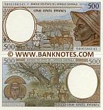 Cameroon 500 Francs 1994 (94063861xx) UNC
