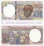Equatorial Guinea 5000 Francs 2000 (N 0052103582) UNC