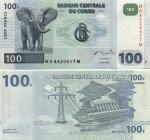 Congo D.R. 100 Francs 2000 (MA84208xxM) UNC