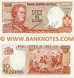 Chile 10000 Escudos (1967-) (A27/14148xx) UNC