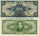 China 10 Dollars 1928 (SX431550QF) UNC-