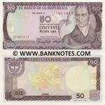 Colombia 50 Pesos Oro 1986 (179610xx) UNC